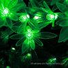 L'energia solare verde del fiore di simulazione di 30 LED mette insieme gli indicatori luminosi