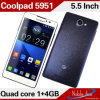 Snapdragon Msm8625q 쿼드 코어 GSM 3G CDMA 전화 (5951)