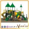 De opwindende Speelplaats van de Dia van de Kinderen van het Pretpark Openlucht
