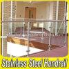 Barandilla de cristal del balcón del acero inoxidable del claro durable de la barandilla