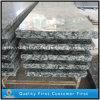 Onda del mar/pisada de pulido de la canalización vertical de la escalera del granito blanco del aerosol/de escalera