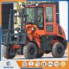Chinesischer Hersteller 3ton 4WD 3m aller raues Gelände-Gabelstapler