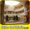 Lujo de escalera Baranda de escalera de aluminio Barandilla para Hotel Lobby