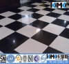 Branco e Black Ceramic Floor Tile