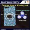 Shell móvil iPhone caliente de la manera del nuevo con el hilandero del dedo, caja del juguete de la persona agitada del hilandero de la mano 2 in-1