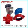Construction malléable de fer, couplage Grooved et garnitures 3 ''