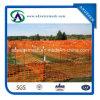 Barriera di sicurezza d'avvertimento di plastica dell'HDPE della rete fissa dell'edilizia