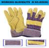 Guanti del lavoro con il cuoio spaccato della pelle di cinghiale (G2020)