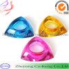Bunte Dreieck-Form Tealight Glaskerze-Halter (CKGCR130228)