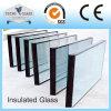 изолированное 4+6A+4 стекло стекла изолируя с алюминиевой рамкой