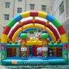 Città rimbalzante gonfiabile di Fun, Amusement Bouncer Park con Roof Tent