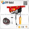 500kg 판매를 위한 휴대용 마이크로 철사 밧줄 모터 상승 전기 호이스트 PA500