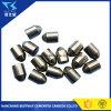 Garnitures intérieures de carbure de tungstène pour des morceaux de roche
