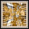 Scarves quadrados de seda feitos sob encomenda impressos Digital