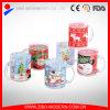 Tazas de cristal de la Navidad de la taza de la Navidad