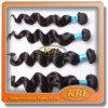 100%の自然なブラジルの毛のロゴ、ブラジルの毛の成長の製品