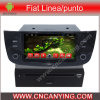 Reproductor de DVD del coche para el reproductor de DVD de Pure Android 4.4 Car con A9 CPU Capacitive Touch Screen GPS Bluetooth para AUTORIZACIÓN Linea/Punto (AD-6209)