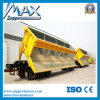 Popular barato Tri Axles 60tons Side Wall Semi Trailer