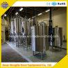 Equipo superficial de la cervecería de la cerveza 500L del acero inoxidable y del cobre con la elaboración de la cerveza micro de la cervecería de la fermentadora 1000L