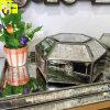 유리제 상자를 위한 고대 보석 상자 미러 아름다움 장식용 물자