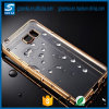 GroßhandelsUltra Thin Silicone Scratch Resistant Plating Crystal - freies TPU Phone Fall für Samsung Galaxy S6 Edge Plus