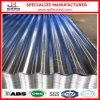 Chapa de aço ondulada galvanizada G60 do metal da telhadura do ferro de Hdgi