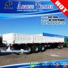 Tri-as 20 40FT de Aanhangwagen van de Zijgevel van de Lading/Flatbed Semi Aanhangwagen van de Container