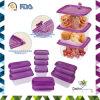 Contenitore di alimento di plastica del peso sicuro aperto facile del forno della Tailandia