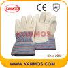 De Handschoenen van het Werk van de Bedrijfsveiligheid van het Leer van de Korrel van de zweep (12005)