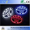значок логоса автомобиля 5D СИД светлый для Toyota Corolla Camry