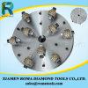 Roues de meulage de marteau d'outils de diamant de Romatools pour le béton de marbre de granit