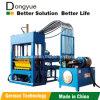 Cor da qualidade que pavimenta a maquinaria dos tijolos|Brick e Concrete vermelhos Stone Machine|Maquinaria Qt4-15 Dongyue do tijolo refratário