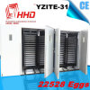 Grosses Machine Full Automatic 22528 Eggs Incubator für Hot Sale