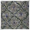 Fiore bordato sul Sequin Embroidery-Flk315