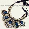 2016 de Halsband van het Bergkristal van de Juwelen van de Douane, de Halsband van de Verklaring van de Nauwsluitende halsketting van de Manier (saffier tp-094)