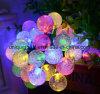 Het zonne Koord steekt het &Colorful Waterdichte Licht van Decoratieve LEIDENE Christamas van de Vakantie aan