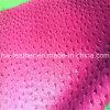 Unité centrale Leather d'autruche avec Fur Backing pour Shoes Hw-542