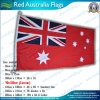 90X180cm 160GSM Spun Polyester Red Australie Flag (NF05F09012)