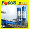 Planta Hzs25 de tratamento por lotes concreta com o 0.5cbm por o misturador concreto de Batcher