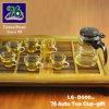 76 de nieuwe Gift van het Theekopje van het Glas van de Stijl met Infuser L6-D500