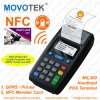 NFC/RFID POS Terminal voor Fuel Card Loyalty Program Systems met GPRS Thermal Printer