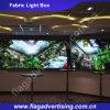 Fornitore di abitudine che fa pubblicità al segno della casella chiara del tessuto del LED