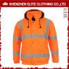 Куртка защитной померанцовой безопасности отражательная с Hoody (ELTSJI-17)