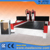 CNC Stone Router Machine with 2 Heads for Stone Engraving