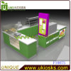 Branco e Green/Highquality/Factory Price Ice Cream Kiosk Design para Sale (F10076)
