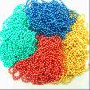 De gekleurde Ketting van de Bal, Halsband, de Ketting van de Parel van het Metaal van de Kleur (KY)