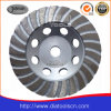 Roda do copo de Turbo do diamante de Od115mm