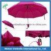 Paraguas automático del marco de acero del doblez de la alta calidad 3