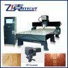 Máquina do CNC com o varredor 3D