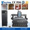 Máquina de grabado del vector del vacío de los ranuradores del CNC del corte del grabado de madera